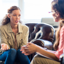 women at counselling